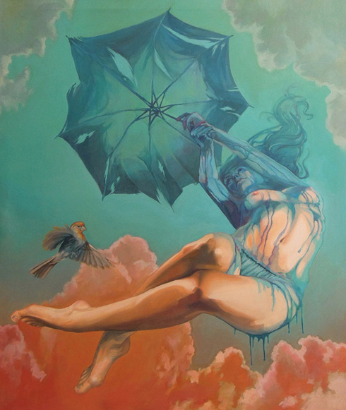 Natalia Rak - Broken umbrella