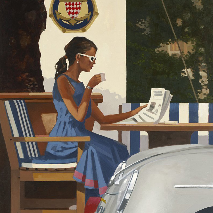 Jack Vettriano - Morning News
