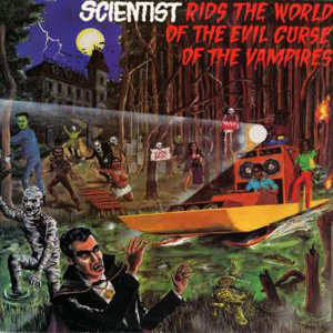 Scientist | The Scientist Rids The World Of The Evil Curse Of The Vampires Tony McDermott, 1981