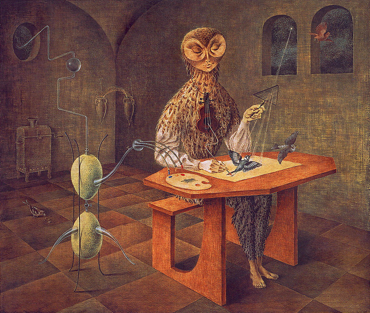 Creation of the Birds, Remedios Varo, Wikiart