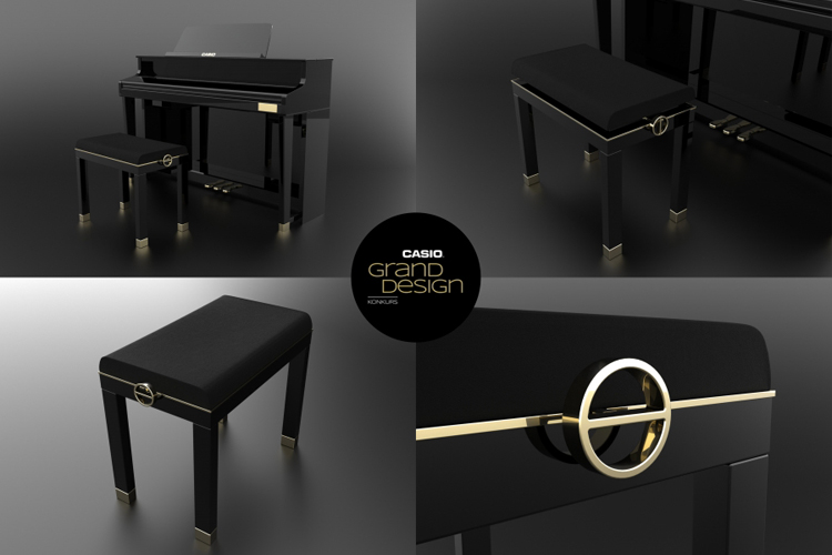 Casio Grand Design, proj. Anna Miszko