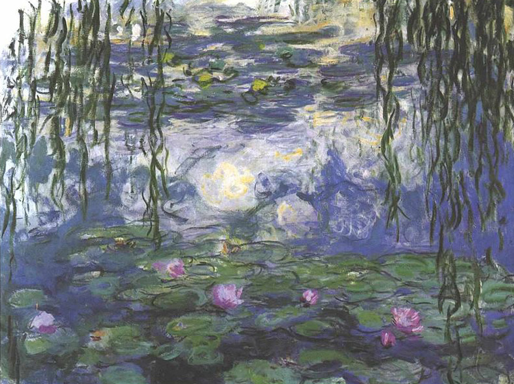Water Lilies, Claude Monet, 1915